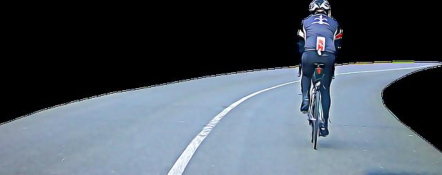 cyklista na silnici