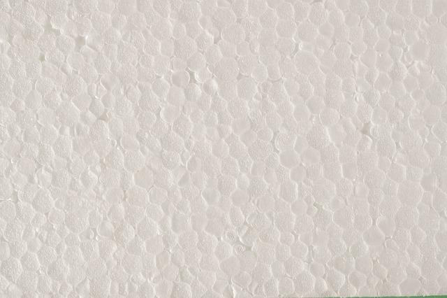 bílý polystyren