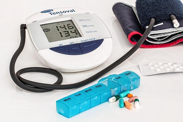 potřeby na vysoký krevní tlak
