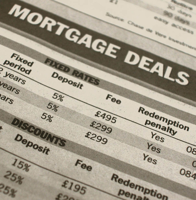 hypotéční sazby